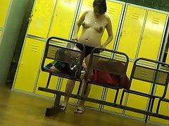 Hidden camera in the dressing room 2