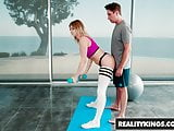 Reality Kings - Monster Curves - Pilates - Giselle Palmer Br
