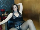 Sizzling Video-sexyvega in black pantyhose