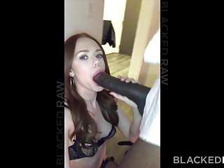blackedraw歐元女孩終於嘗試了mandingo