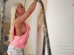 Celine Davis is beeing seduced. Helpful neighbours Part2