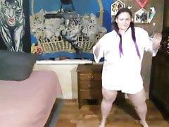 My xhamster friend Motisa striptease in Man's Shirt