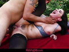 Karups - Sheena Ryder Fucked Outdoors