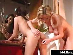 Smoking Hot Nikki Benz Gets Dildo Fucked By Jenna Haze!
