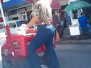 Voyeur Brazilian video: Loira rabuda e gostosa