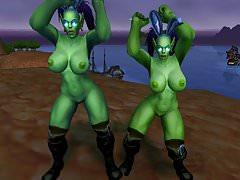 Warcraft ženské Orc feny