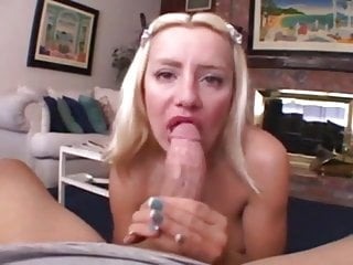 Blowjob Big Tits xxx: Hot Bodied Little Milf Takes Care Of A Cock