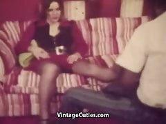 Massieren und Ficken die ganze Nacht (1970er Jahre Vintage)