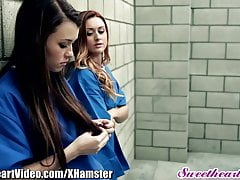 Sweetheart Prison Lesbians Eating Pussy