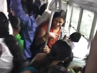 Indian Amazing Miss video: Chennai Bus Amazing Groping DONT MISS