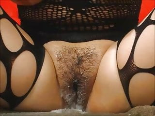 Lingerie Mature Creampie vid: Mature spunk love - part 2