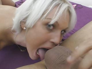 Fingering Orgasms Rimjob video: Euro MILF Cecilia Scott does rimjob and has huge orgasms