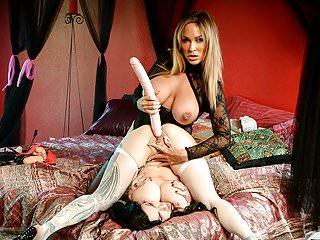 Lesbians Sex Toys Big Tits video: Spizoo - Jenevieve Hexxx & Audrey Black lesbian, big booty