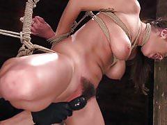 Karlee Grey sufre en Brutal Bondage