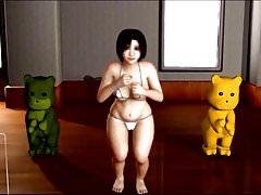 Anime cvičení s velmi hezké Song HD Res. 2000 x 1125.avi