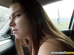 Mofos.com - Marina Visconti youporn - Stranded Teens free