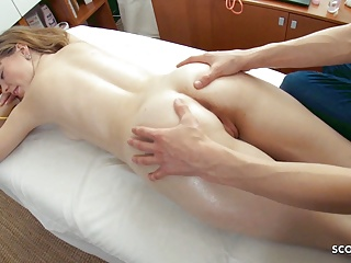 Massage Teen Big Cock vid: SKINNY GINGER TEEN SEDUCE FUCK AT MASSAGE PARLOUR MOM NEXT