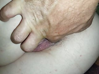Fingering Wife Slave video: Slut H - Fingers in wet pussy and ass