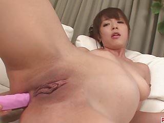 .Hot japanese bondage and toy fucking with Marika.