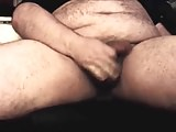 horny chubby bear jerk off