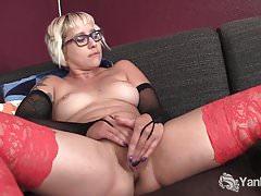 Ahoj Blondie Vi odchází ze sledování porno