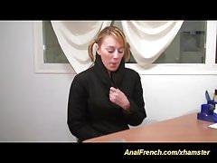 carina teen casting francese per il suo primo sesso anale