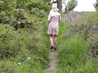 Amateur Stockings video: A walk with Nature