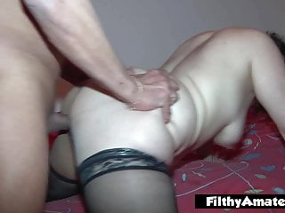 .Orgy with two wives who get buggered and cum in the face.