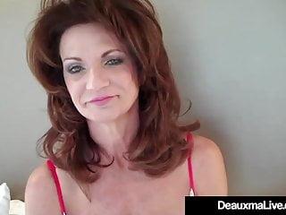 Matures,Milfs,Lingerie,Pov,Big Tits,Cougar,Deauxma,Hot Cougar,Hd Videos,Hot Dildo