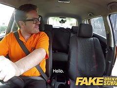 Fake Driving School Gorąca włoska nimfa minx Valentina Bianco