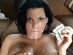 AC - Gruba latina dostaje pieniądze i cum
