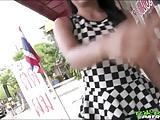 Tuk Tuk Patrol - Petite Thai gets her pussy and ass stuffed