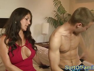 Busty Guy 69 video: Busty motherinlaw sixtynines younger guy