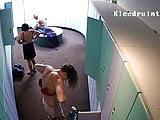 Hidden camera in the locker room 6