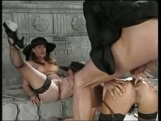 Group Sex Big Cock Creampie video: Group clip , lucky Priest!
