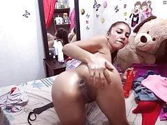 latina anal fuck camwhore schlampiger hintern klaffen