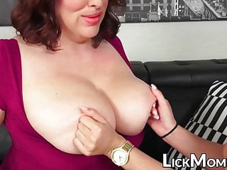 Teen Big Tits Milf video: Busty mature loves fingering stepdaughters wet pussy