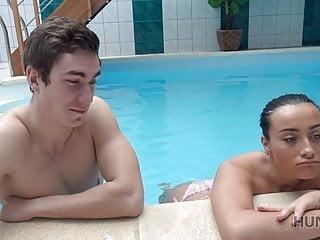 Teen Blowjob Brunette video: HUNT4K. Poor cuckold should watch how rich guy owns his girl