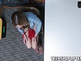 Teen cutie Blair Williams fucks hard to avoid jail time
