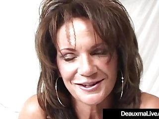 Matures Squirting video: Busty Cougar Deauxma Squirts Her Pussy Juice Masturbating!