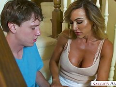 Australian MILF Aubrey Black Takes Teen's Virginity
