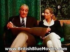 Retro brytyjskie klapsy