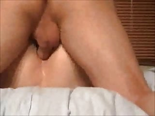 Cuckold Milf Mature video: Asshole creampie