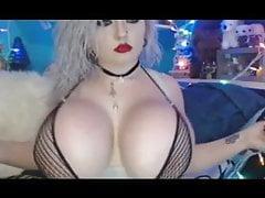 Pale Silicone Tit Princess