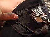 Handsfree Cum on Panties 1