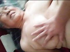 Azjatycka Chubby Granny