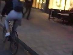 Booty on bike