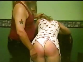 Lingerie Softcore Spanking video: panty wedgie spanking 2