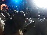 en un concierto