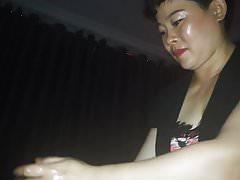 Massaggio di cazzo cinese indiano con sperma - Parte 2